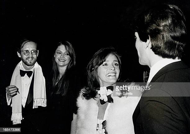 Actress Margot Kidder and writer Michael O'Donaghue actress Gae Exton and actor Christopher Reeve attending the New York premiere of Superman on...