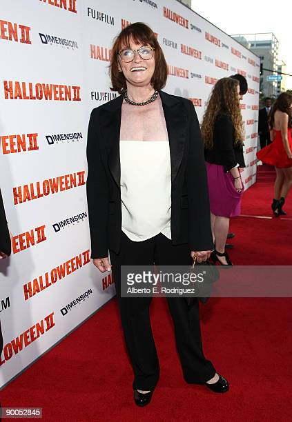 Actress Margot Kidder arrives at the premiere of Dimension Films' Halloween II held at Grauman's Chinese Theater on August 24 2009 in Hollywood...