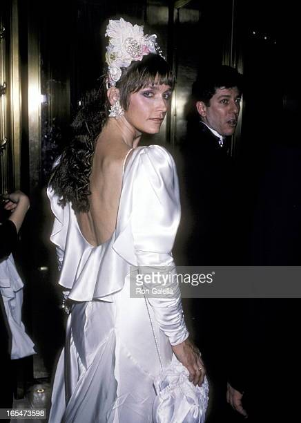 Actress Margot Kidder attends the 'Command Performance Benefit for the Millay Colony for the Arts' on April 28 1986 at St Regis Hotel in New York...