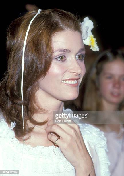Actress Margot Kidder attends the Presidential Premiere of 'Superman' on December 10 1978 at Eisenhower Theater at the John F Kennedy Center for the...