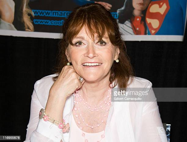 Actress Margot Kidder attends Wizard World's Philadelphia Comic Con 2011 at the Pennsylvania Convention Center on June 18 2011 in Philadelphia...