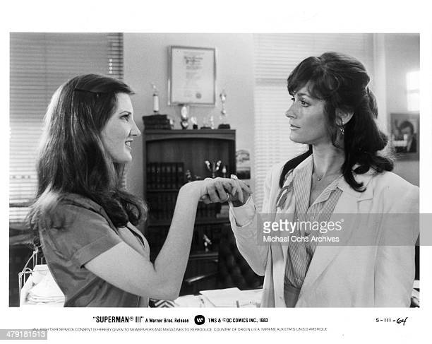 Actress Margot Kidder in a scene from the Warner Bros movie 'Superman IV The Quest for Peace' circa 1987
