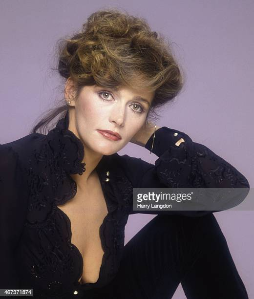 Actress Margot Kidder poses for a portrait in 1985 in Los Angeles California