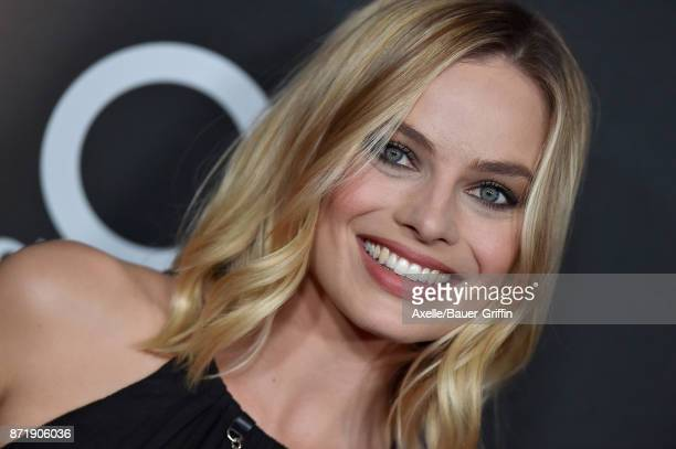 Actress Margot Robbie arrives at the 21st Annual Hollywood Film Awards at The Beverly Hilton Hotel on November 5 2017 in Beverly Hills California