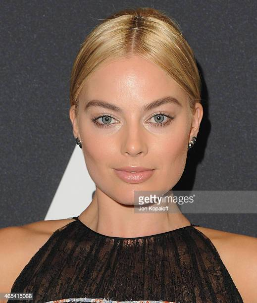 Actress Margot Robbie arrives at the Academy Of Motion Picture Arts And Sciences' Scientific And Technical Awards Ceremony at the Beverly Wilshire...
