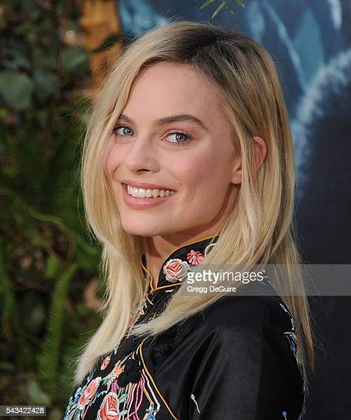 Actress Margot Robbie arrives at the premiere of Warner Bros Pictures' 'The Legend Of Tarzan' at TCL Chinese Theatre on June 27 2016 in Hollywood...