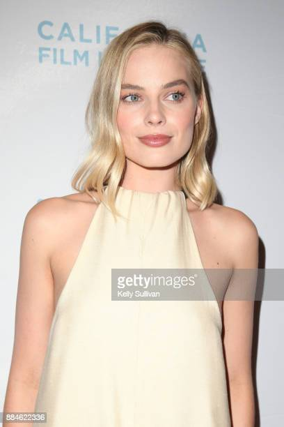 Actress Margot Robbie arrives on the red carpet for a premiere of 'I Tonya' at the Christopher B Smith Rafael Film Center on December 2 2017 in San...