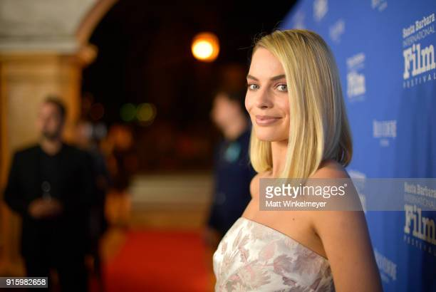 Actress Margot Robbie at the Outstanding Performers Honoring Margot Robbie and Allison Janney Presented By Belvedere Vodka during The 33rd Santa...