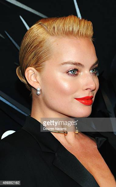 Actress Margot Robbie attends Hugo Boss Prize 2014 at Solomon R Guggenheim Museum on November 20 2014 in New York City