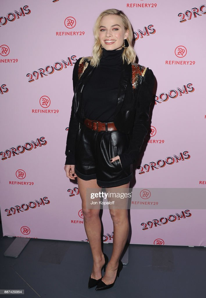 Actress Margot Robbie attends Refinery29 29Rooms Los Angeles: Turn It Into Art at ROW DTLA on December 6, 2017 in Los Angeles, California.