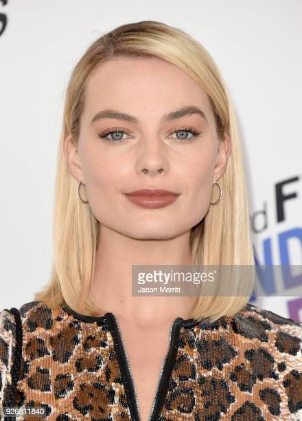 Actress Margot Robbie attends the 2018 Film Independent Spirit Awards on March 3 2018 in Santa Monica California