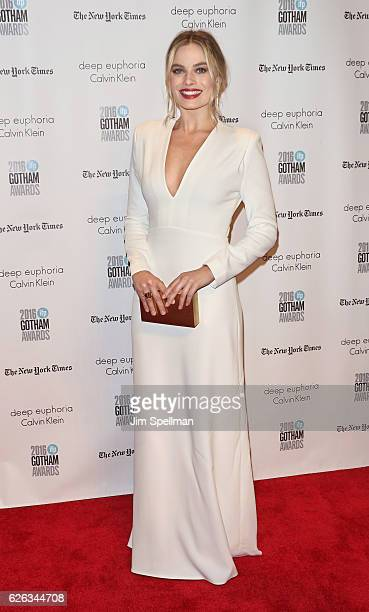 Actress Margot Robbie attends the 26th Annual Gotham Independent Film Awards at Cipriani Wall Street on November 28, 2016 in New York City.