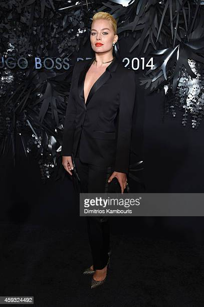 Actress Margot Robbie attends the Hugo Boss Prize 2014 at Guggenheim Museum on November 20 2014 in New York City