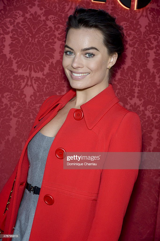 Actress Margot Robbie attends the Miu Miu show as part of the Paris Fashion Week Womenswear Fall/Winter 2014-2015 on March 5, 2014 in Paris, France.