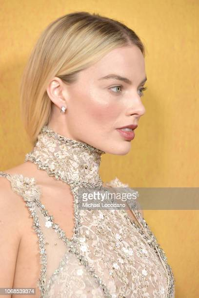 Actress Margot Robbie attends the New York premiere of Mary Queen Of Scots at Paris Theater on December 4 2018 in New York City
