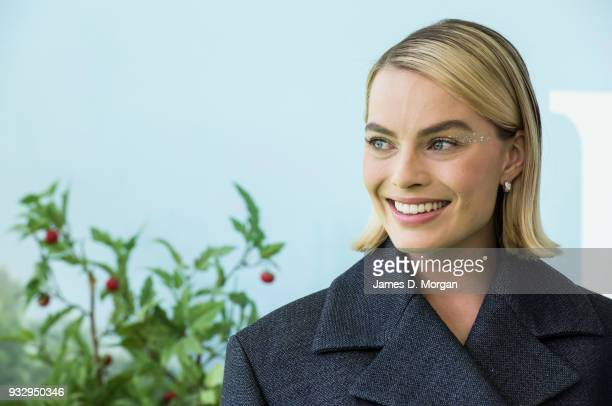 Actress Margot Robbie attends the Peter Rabbit Australian Premiere on March 17, 2018 in Sydney, Australia.