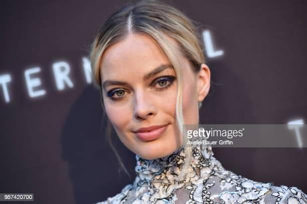 Actress Margot Robbie attends the premiere of RLJE Films' 'Terminal' at ArcLight Cinemas on May 8 2018 in Hollywood California