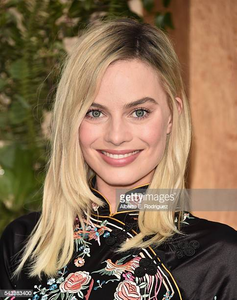 Actress Margot Robbie attends the premiere of Warner Bros Pictures' 'The Legend of Tarzan' at Dolby Theatre on June 27 2016 in Hollywood California