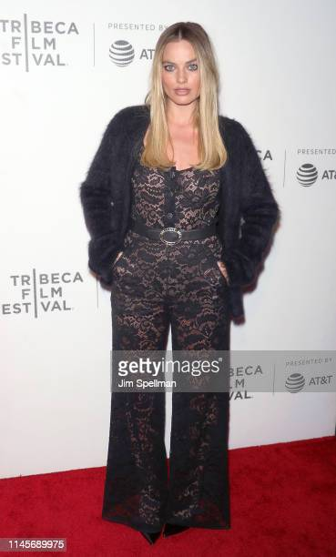 Actress Margot Robbie attends the screening of Dreamland during the 2019 Tribeca Film Festival at BMCC Tribeca PAC on April 28 2019 in New York City
