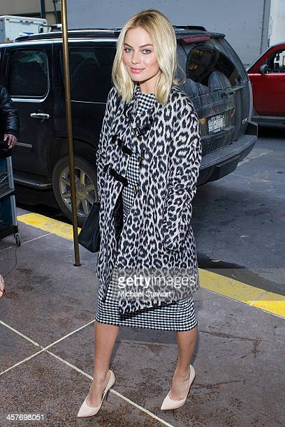 "Actress Margot Robbie attends the ""The Wolf Of Wall Street"" luncheon at Four Seasons Restaurant on December 18, 2013 in New York City."