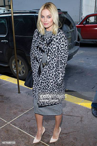 Actress Margot Robbie attends the The Wolf Of Wall Street luncheon at Four Seasons Restaurant on December 18 2013 in New York City