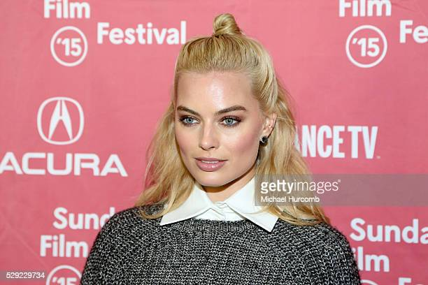 """Actress Margot Robbie attends the """"Z for Zachariah"""" premiere at the 2015 Sundance Film Festival"""