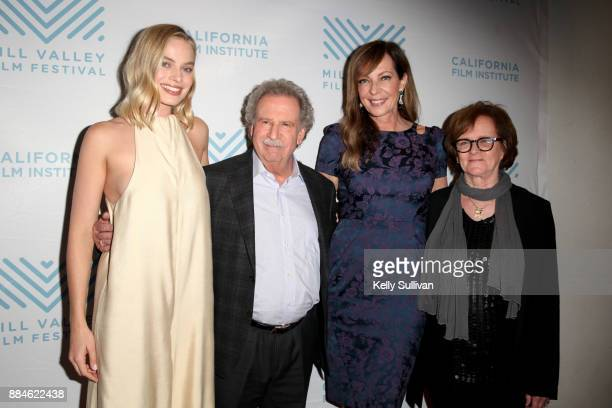 Actress Margot Robbie Executive Director of the California Film Institute Mark Fishkin actress Allison Janney and Mill Valley Film Festival Director...