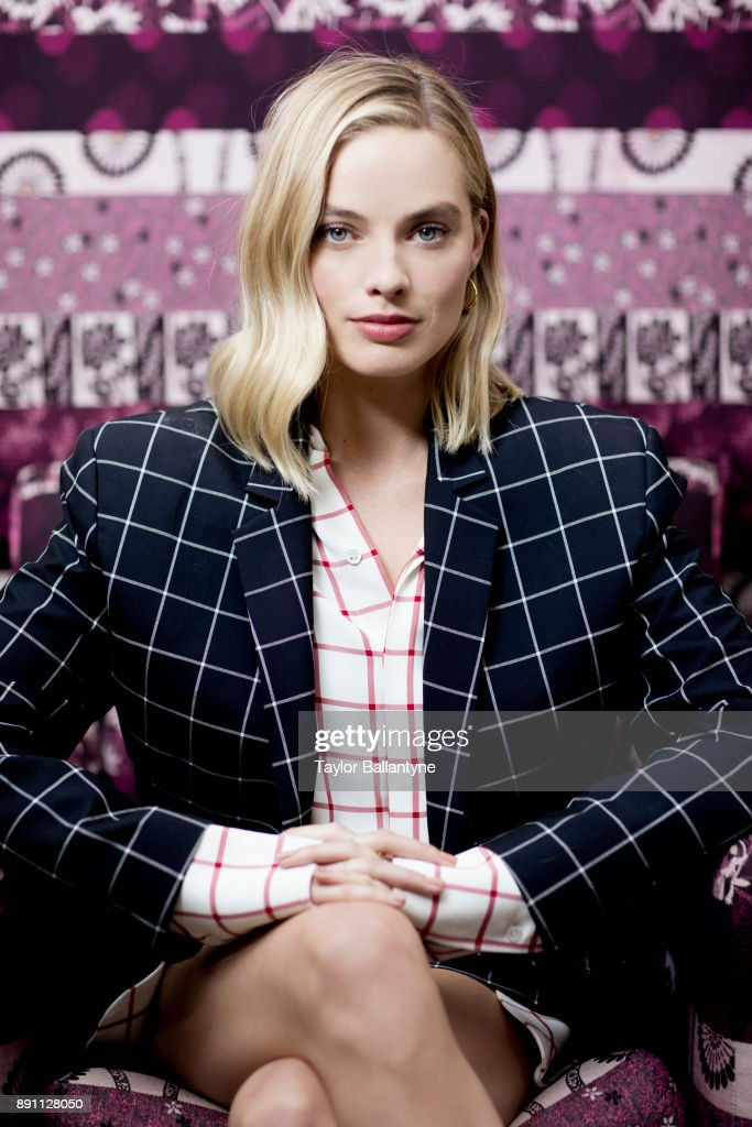 Actress Margot Robbie is photographed for Sports Illustrated on November 28, 2017 in New York City. (Set Number: X161562 TK1 )
