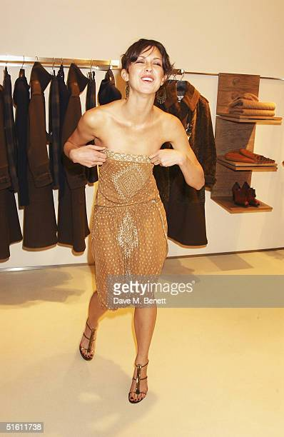 Actress Margot Stilley attends the store launch party for the new flagship  branch of Maxmara at 53259008fc3