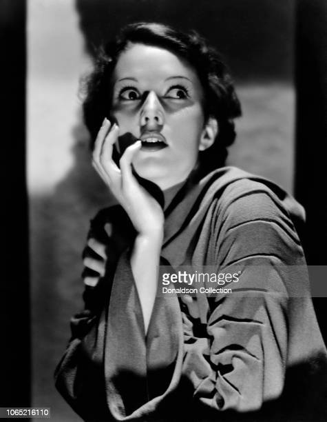 Actress Marguerite Churchill in a scene from the movie Dracula's Daughter