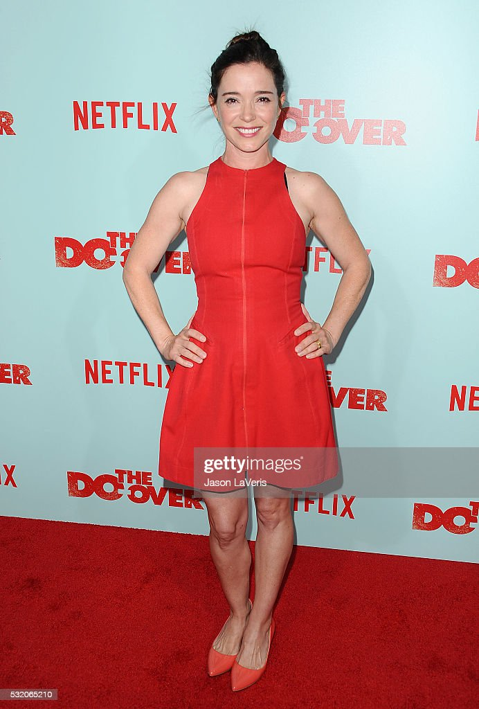 Actress Marguerite Moreau attends the premiere of 'The Do Over' at Regal LA Live Stadium 14 on May 16, 2016 in Los Angeles, California.