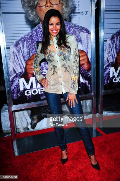 Actress Mari Morrow attends a screening of Tyler Perry's Madea Goes to Jail at the AMC Loews Lincoln Center on February 18 2009 in New York City