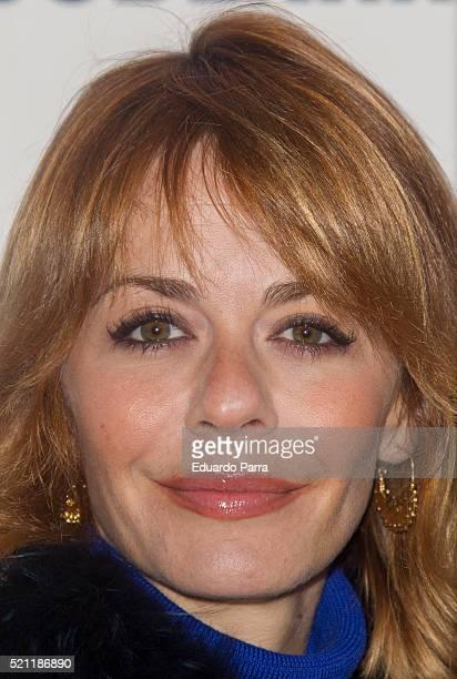 Actress Maria Adanez attends 'Los vecinos de arriba' premiere at La Latina theatre on April 14 2016 in Madrid Spain