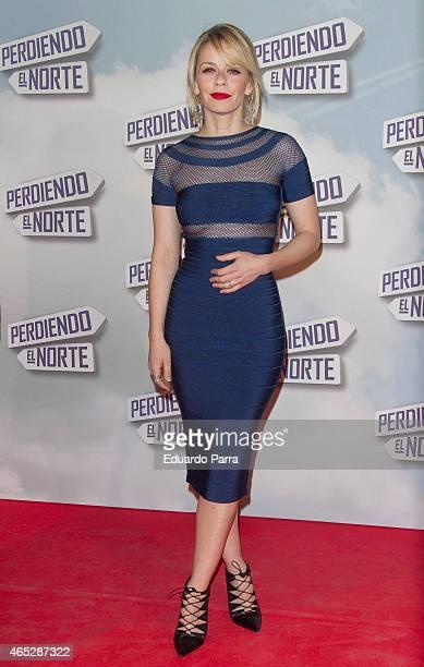 Actress Maria Adanez attends 'Perdiendo el norte' premiere photocall at Capitol cinema on March 5 2015 in Madrid Spain