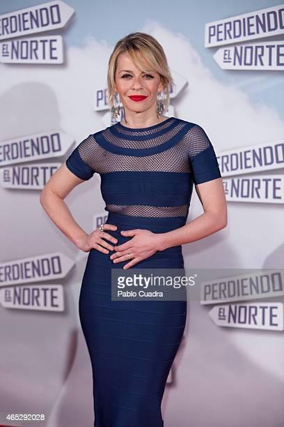 Actress Maria Adanez attends 'Peridendo el Norte' premiere at Capitol Cinema on March 5 2015 in Madrid Spain