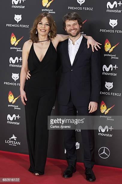 Actress Maria Adanez attends the Feroz cinema awards 2016 at the Duques de Pastrana Palace on January 23 2017 in Madrid Spain