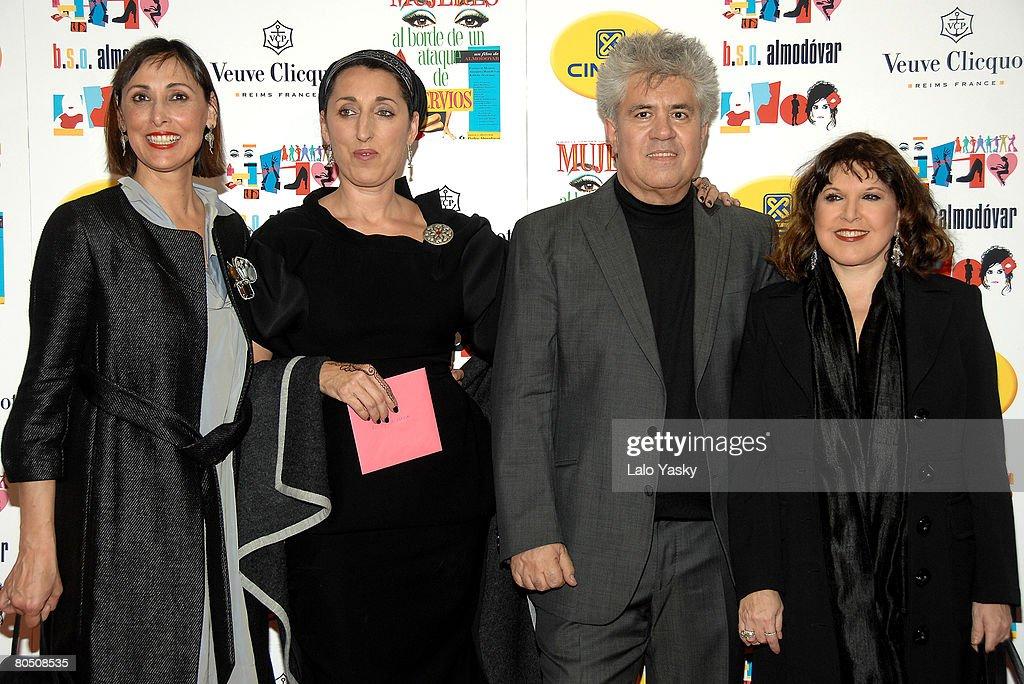 'Women on the Verge of a Nervous Breakdown' 20th Anniversary Screening in Madrid : ニュース写真