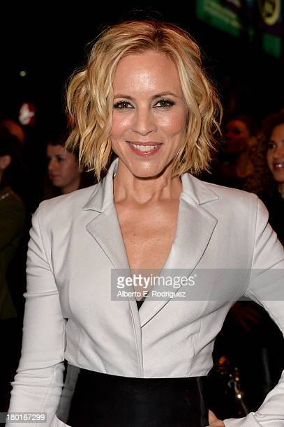Actress Maria Bello arrives at the Third Person Premiere during the 2013 Toronto International Film Festival at The Elgin on September 9 2013 in...
