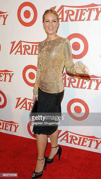 Actress Maria Bello arrives at Variety's Centennial Gala Presented by Target at The Historic Beverly Hills Post Office on December 2 2005 in Beverly...