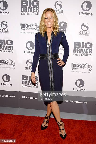 Actress Maria Bello attends Big Driver New York Premiere at Angelika Film Center on October 15 2014 in New York City