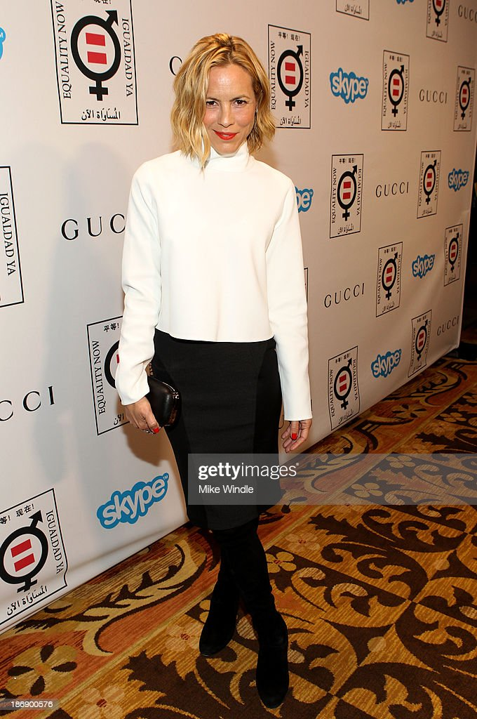 Actress Maria Bello attends Equality Now presents 'Make Equality Reality' at Montage Hotel on November 4, 2013 in Los Angeles, California.