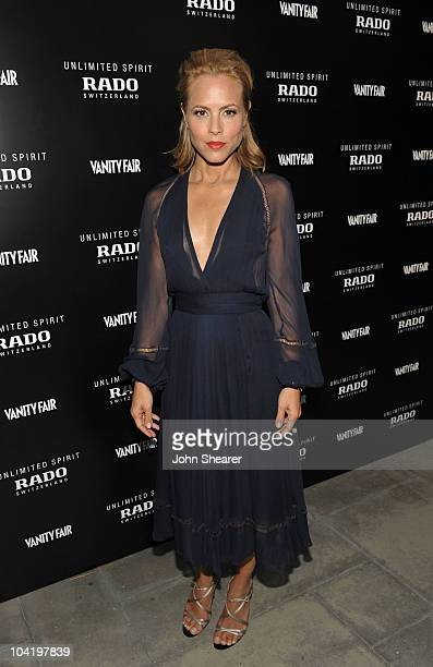 Actress Maria Bello attends Rado Vanity Fair's celebration of Unlimited Spirit on September 16 2010 in Venice California