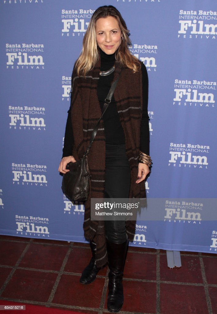 Actress Maria Bello attends the Montecito Award during the 32nd Santa Barbara International Film Festival at the Arlington Theatre on February 8, 2017 in Santa Barbara, California.
