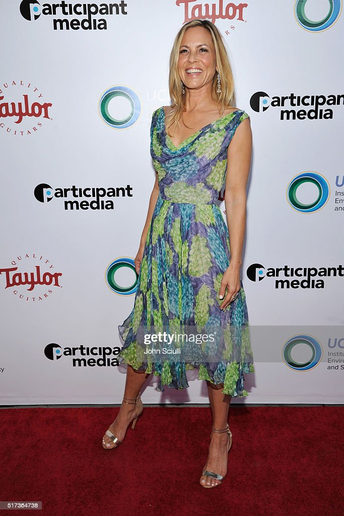 Actress Maria Bello attends UCLA Institute of the Environment and Sustainability annual Gala on March 24, 2016 in Beverly Hills, California.