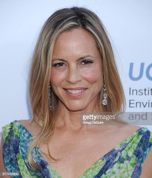 Actress Maria Bello attends UCLA Institute of the Environment and Sustainability celebration of the Champions Of Our Planet's Future on March 24 2016...