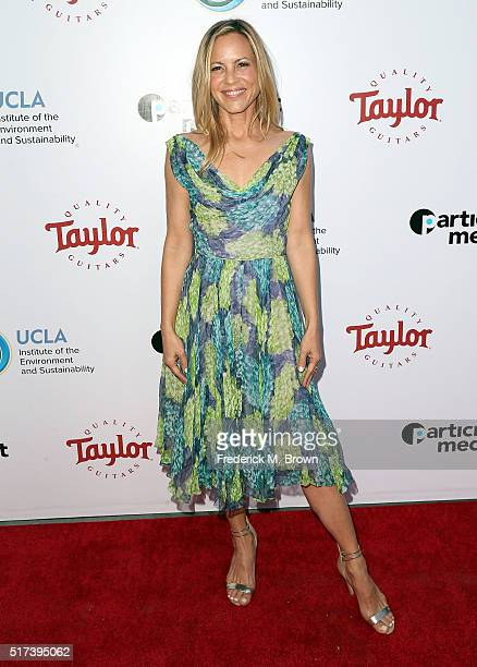 Actress Maria Bello attends UCLA IOES celebration of the Champions of our Planet's Future on March 24 2016 in Beverly Hills California