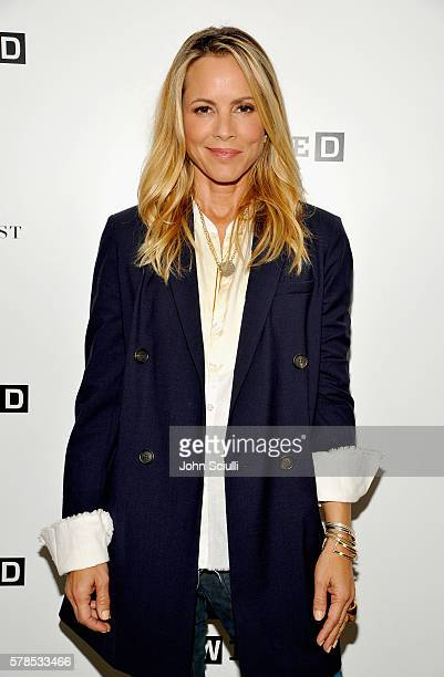 Actress Maria Bello attends WIRED Cafe during ComicCon International 2016 at Omni Hotell on July 21 2016 in San Diego California