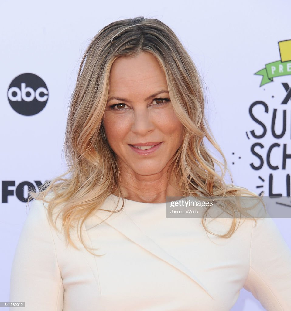 Actress Maria Bello attends XQ Super School Live at The Barker Hanger on September 8, 2017 in Santa Monica, California.