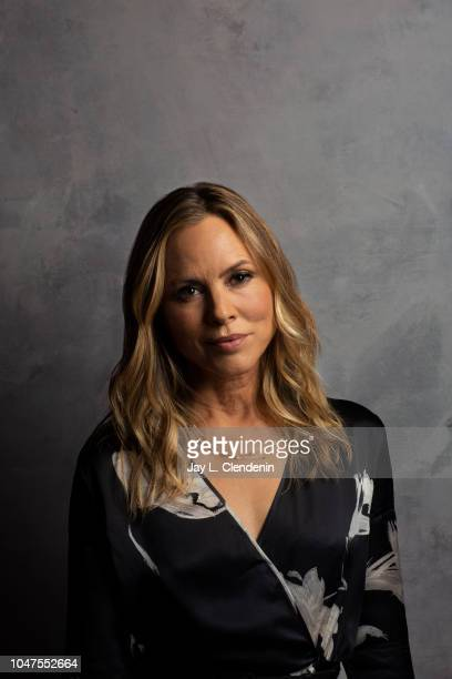 Actress Maria Bello from 'Giant Little Ones' is photographed for Los Angeles Times on September 9 2018 in Toronto Ontario PUBLISHED IMAGE CREDIT MUST...