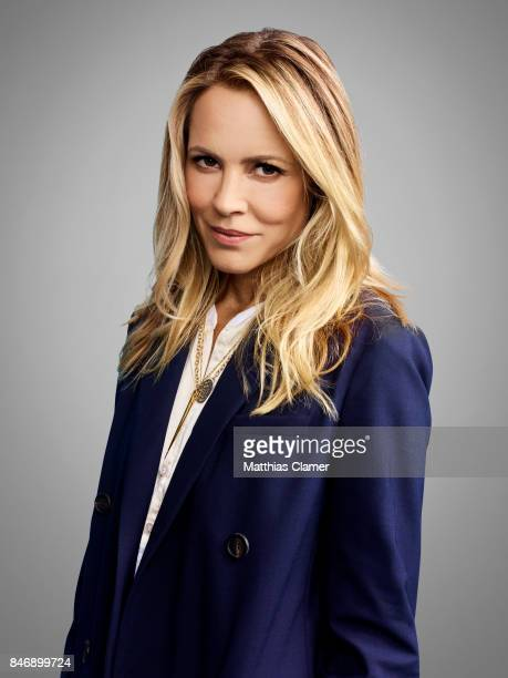 Actress Maria Bello from 'Lights Out' is photographed for Entertainment Weekly Magazine on July 21 2016 at Comic Con in the Hard Rock Hotel in San...